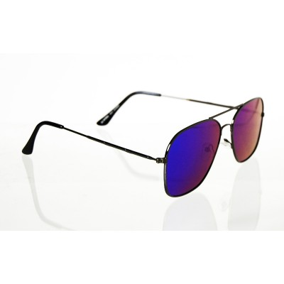 Slnečné okuliare pilotky Square BLUE&GREEN