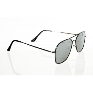 Slnečné okuliare pilotky Square SILVER
