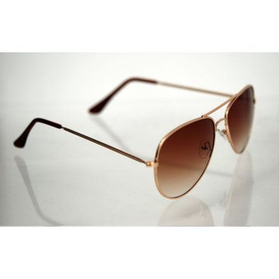 Slnečné okuliare Pilotky SWEET BROWN