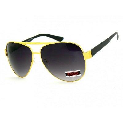 Slnečné okuliare Pilotky SWING GOLD BLACK 54e944a08d5