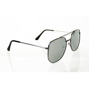 Slnečné okuliare piltoky Gray Style Mimic Silver