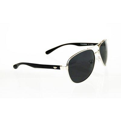 Slnečné okuliare piltoky West BLACK