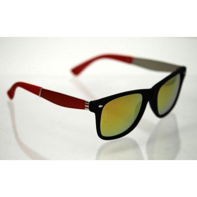 Slnečné okuliare polarizačné Wayfarer AIR červené