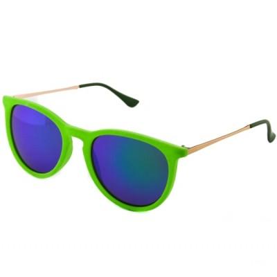 Dámske slnečné okuliare Italy semish zelené
