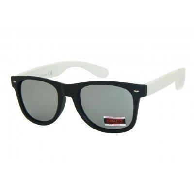 Slnečné okuliare Wayfarer BILLY BLACK WHITE d75db566898