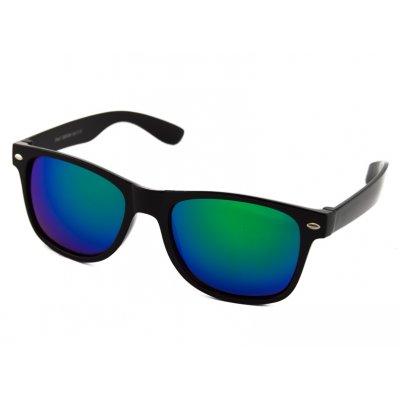 Slnečné okuliare Wayfarer - čierne matné BLUE&GREEN