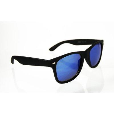 Slnečné okuliare Wayfarer čierne matné BLUE