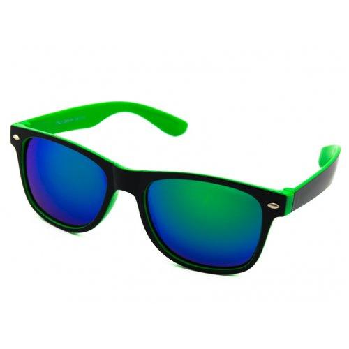 1f6ac95b2 Polarizačné okuliare Wayfarer - čierne z vnútra zelené matné