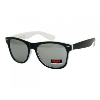 Slnečné okuliare Wayfarer DANIEL BLACK&WHITE