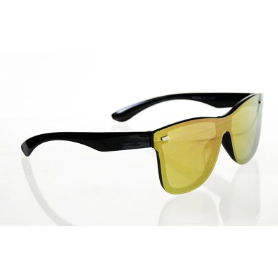 Slnečné okuliare Wayfarer full glass gold/pink