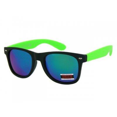 Slnečné okuliare Wayfarer TOMMY BLACK&GREEN