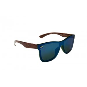 Slnečné okuliare Wayfarer Wood full glass BLUE