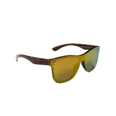 Slnečné okuliare Wayfarer Wood full glass GOLD