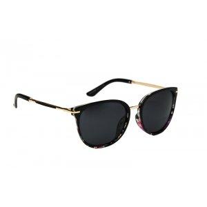 Polarizačné slnečné okuliare Venezia Flower Black
