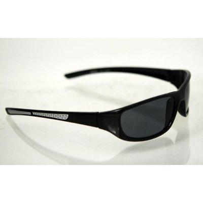 Slnečné športove okuliare real-time black