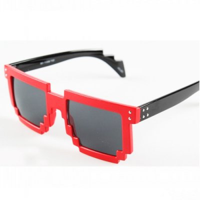 Slnečné okuliare - Packman black & red