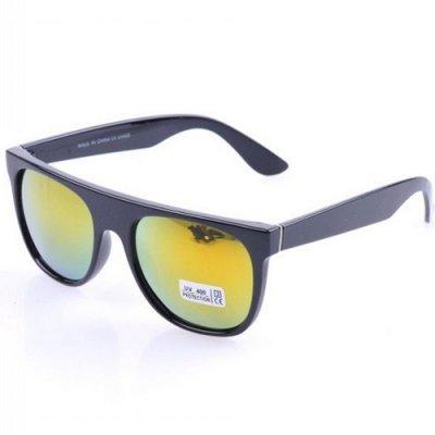 Slnečné okuliare Modern - čierne gold