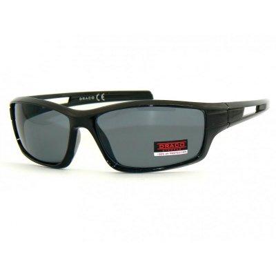 Športové okuliare SMOKE BLACK