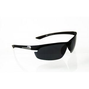 Športové polarizačné okuliare black Man BLACK