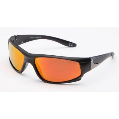 Športové polarizačné okuliare Fuel GOLD&RED