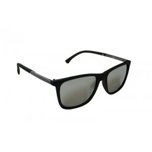 Pánske slnečné okuliare wayfarer New style Black Silver
