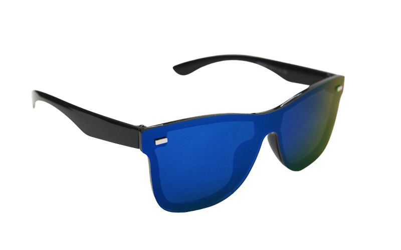 Slnečné okuliare Wayfarer full glass green