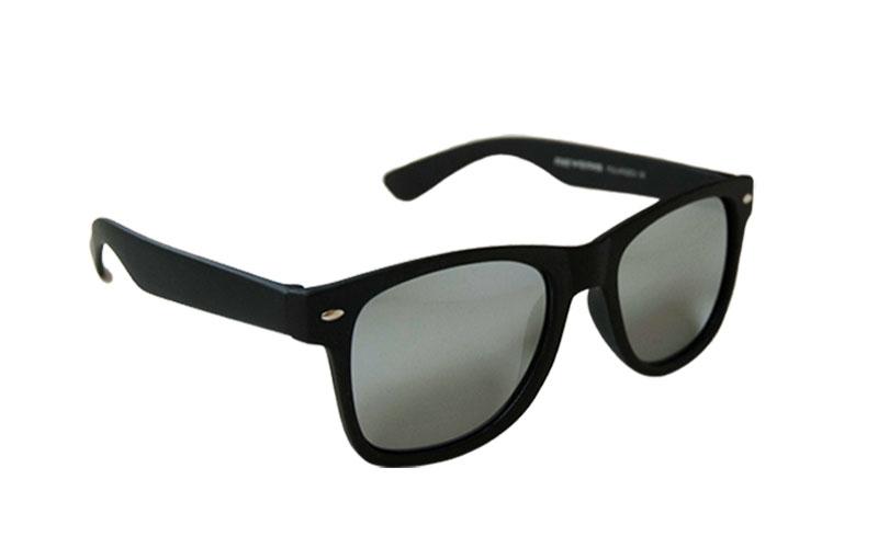 Polarizačné slnečné okuliare Wayfarer čierne matné ...