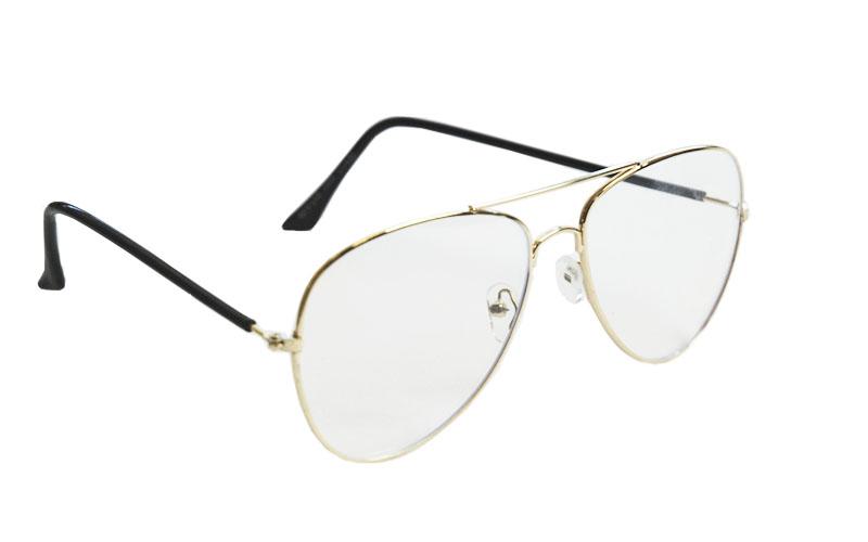 Okuliare na počítač Blue Light Classic Pilot GOLD