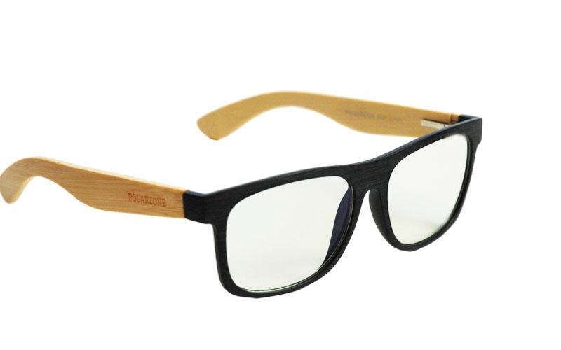 Okuliare na počítač Blue Light drevené Wayfarer Modern ...