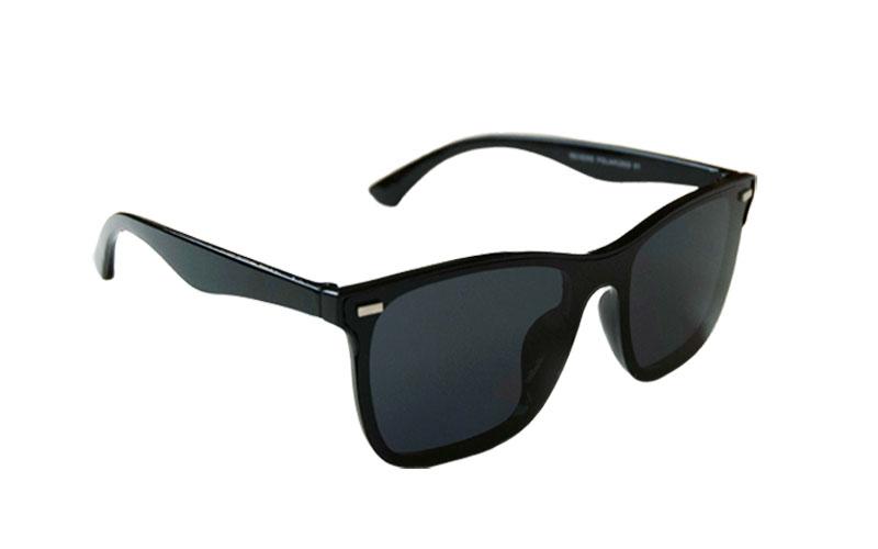 Polarizačné okuliare Wayfarer modern look BLACK